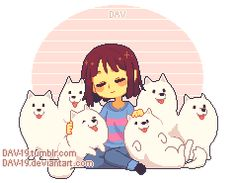 Frisk and dogs