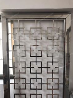 Window Grill Design Modern, Balcony Grill Design, Grill Door Design, Window Design, Home Door Design, Main Door Design, Steel Grill Design, Iron Window Grill, Front Wall Design