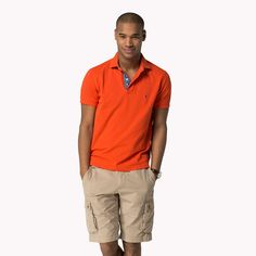 Tommy Hilfiger Summer Regular Fit Polo - scots red (Red) - Tommy Hilfiger Polos - main image