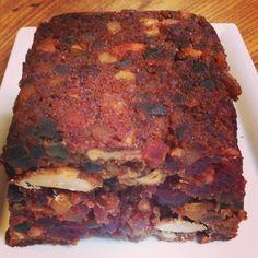 Stained-glass window Cake - cake vitrail #cuisine #food #faitmaison #gateau #cake #fruitconfit #noixdubresil #noix #cake #anglais #dessert