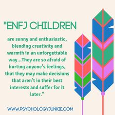 Discover the unique childhood struggles and joys of #ENFJ children!