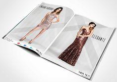 Anúncio para revista, campanha Vista-se de Elogios da Loja Vida Nua.
