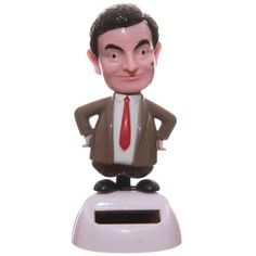 Mr Bean Solar Pal - Licensed DesignMaterial: PlasticProduct Resources:Want to find out more about purchasing from Puckator?Need more information on solar pals? Visit our resource centre and browse our solar pal pr Mr. Bean, Decoracion Star Wars, Solar Powered Toys, Dancing Toys, Dancing Figures, Power Wallpaper, Solar Power Energy, Animal Action, Bobble Head