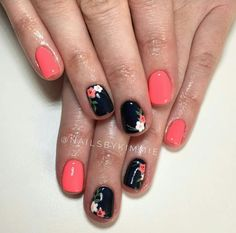 Super cute nails by: @nailsbykimmie