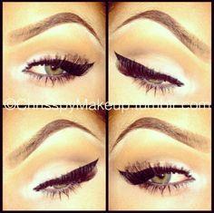 White & Neutral Eyeshadow