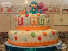 Torta Decorada: Pocoyo!