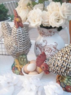Adorable French Country Tablescape