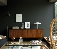 Obsidian Green (216) - Absolute Matt Emulsion Paint - Paint Finishes - Paint