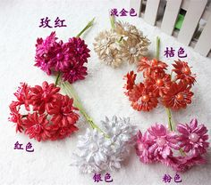 4CM artificial chrysanthemum silk flowers,simulation gold chrysanthemum flower bouquets for diy flower garland wreath decoration