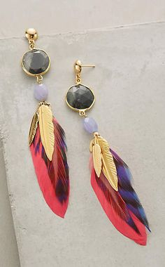 Brightwing Earrings #anthroregistry        #courtnieraible