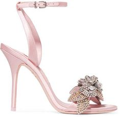 79e1be2b0ee Sexy, clear heel with rhinestones, peep toe. Stunning | Shoes in ...