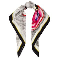 The 'Hearts & Eyes' scarf in 90 x 90cm. Now available online.