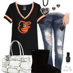I Heart The Baltimore Orioles Outfit