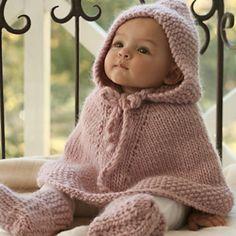Capa para bebé... calentita, calentita....