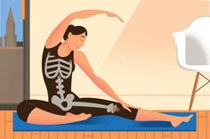 """Weight-bearing activity is often recommended to patients with bone loss, and Dr. Fishman argues that certain yoga positions fit the bill."""