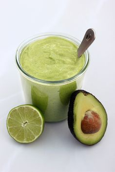 Creamy Avocado Dressing – Gluten-free + Dairy-free w/ Vegan Option