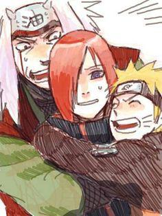 Jiraiya, Naruto, Nagato, Rinnegan; Naruto
