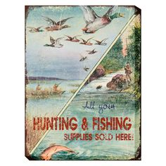 West of the Wind Bait and Tackle Outdoor Wall Art - OU-80645 (BAIT & TACKLE)