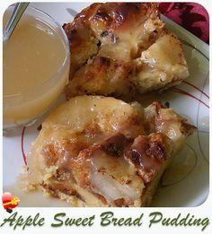 Apple Sweet Bread Pudding - ILoveHawaiianFoodRecipes