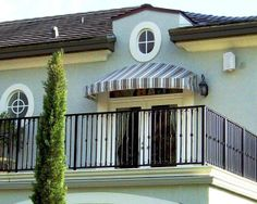 Residential Awning - Mediterannean Style