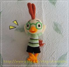 Chicken Little (purchase) PDF Pattern by Conticha/Etsy.com