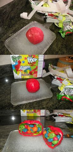 This Is A Box Of Gushers, Wrapped In Fruit Roll-Ups, Wrapped In Fruit By The Foot