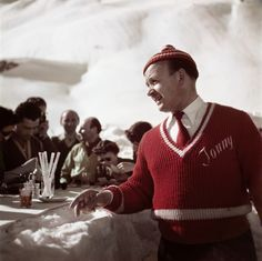 Ski Photos in the 1950's by Robert Capa