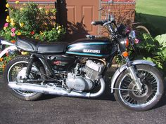 1977 Suzuki GT500. To this day this is my favorite motorcycle I've owned. Two cylinder, two-stroke engine. I could out accelerate bullet bikes with this thing. Smokey but fun.