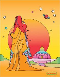 Peter Max - Swami Satchidananda