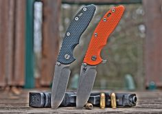 Two Rick Hinderer XM-18's by J Centavo, via Flickr