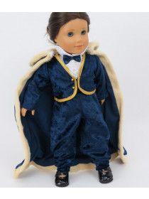 American Fashion World Fairytale Prince Outfit for 18 Inch Dolls American Boy Doll, American Doll Clothes, 18 Inch Boy Doll, Boy Doll Clothes, Journey Girls, Little Boy Fashion, Boy Costumes, Girl Dolls, Ag Dolls