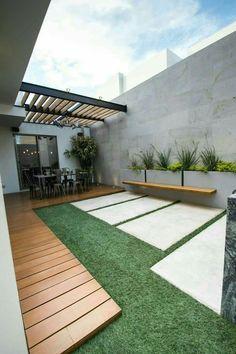 Backyard Patio Designs - Stunning And Cheap Landscaping Ideas You Can Copy Backyard Patio Designs, Pergola Patio, Backyard Landscaping, Pergola Kits, Pergola Ideas, Patio Roof, Houston Landscaping, Backyard Greenhouse, Wood Patio