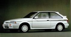 Mazda 323 GT-X Mazda Familia, Mazda Cars, Japanese Domestic Market, Ferrari, Street Racing, Motor Car, Cars And Motorcycles, Cool Cars, Classic Cars