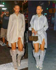 Estilo Rihanna, Mode Rihanna, Rihanna Riri, Rihanna Style, Rihanna Fashion, Fashion Killa, Look Fashion, Autumn Fashion, Fashion Outfits