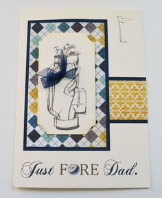 Father's Day Greeting Card for Dad Card just for Dad by OneCrafts, $5.25