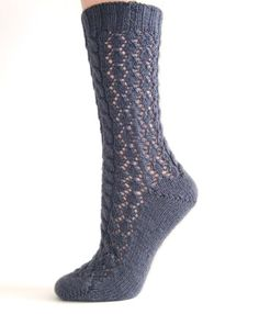 hand knit socks, wish someone would make all these things for me..