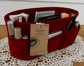 Purse ORGANIZER insert SHAPER / Bag organizer / Burgundy / Extra STURDY / 5 Sizes Available / Check out my shop for more variety