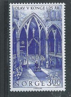 Scott 809 MNH 1982 King Olav | eBay