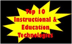 The 2013 update to our annual listing of the top Instructional and Education Technologies that Educators should be aware of and informed about. Technology Tools, Technology Integration, Instructional Technology, Educational Technology, Classroom Hacks, 21st Century Learning, Future Trends, Student Engagement, Concept