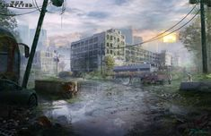 ArtStation - Factory Scene, Mike Paolilli
