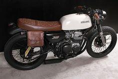 """Café Racer spécial: Honda CB 350 Four, rue Tracker """"smoothcriminal"""""""