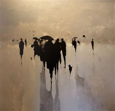 Storm Cloud....painting by Geoffrey Johnson