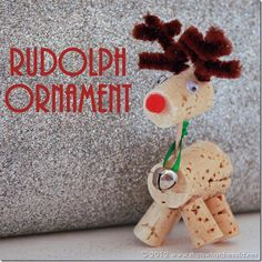 Ruldoph Ornament close up.  Directions here.  :)