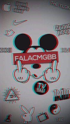 Mickey mouse wallpaper by - 62 - Free on ZEDGE™ Glitch Wallpaper, Cartoon Wallpaper Iphone, Graffiti Wallpaper, Sad Wallpaper, Locked Wallpaper, Galaxy Wallpaper, Mickey Mouse Art, Mickey Mouse Wallpaper, Cute Disney Wallpaper