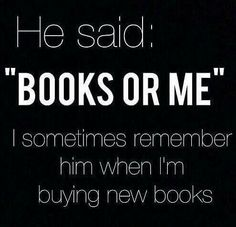Books all the way all the time