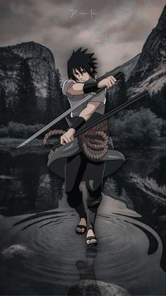 Sasuke Uchiha Shippuden, Wallpaper Naruto Shippuden, Naruto Wallpaper, Supreme Iphone Wallpaper, Naruto Pictures, Wallpaper Art, Naruto Art, Akatsuki, Anime Characters