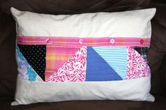 Keepsake Memory Pillow Cover Made From by stitchintimepatterns, $30.00