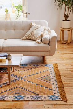 Shop Kaya Printed Rug at Urban Outfitters today. We carry all the latest styles, colors and brands for you to choose from right here. Living Room Carpet, Rugs In Living Room, Living Spaces, Wall Carpet, Rugs On Carpet, Carpets, Cheap Carpet, Home Decor, Minimalist Apartment