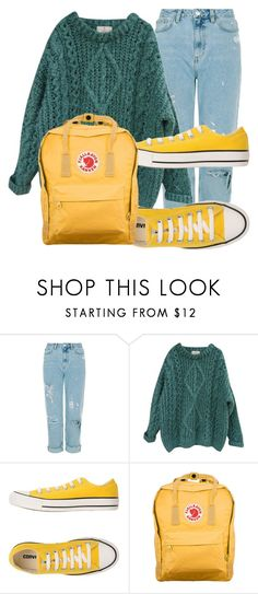 """""""Lazy day"""" by emojijill on Polyvore featuring Essentiel, Converse and Fjällräven"""