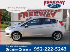 2015 *Ford*  *Fiesta* *Titanium*  20k miles $14,592 20795 miles 952-222-5243 Transmission: Automatic  #Ford #Fiesta #used #cars #FreewayFordMN #Bloomington #MN #tapcars